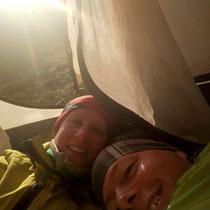 Im kalten Zelt