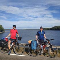 In Schweden gibts seeehr viele Seen