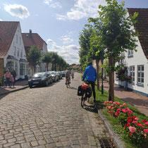 Dorf an der Schlei in Deutschland