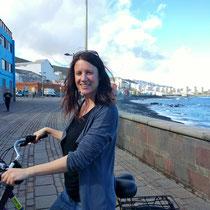 Radfahren an der Ostküste