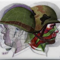 Reproduction d'un motif militaire