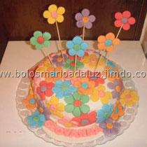 Bolo Flores