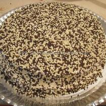Bolo de chocolate com cereal