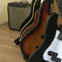 Bassunterricht bei der Musikschule Musikplanet in Lüneburg