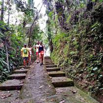 Wandern auf Bali