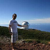 El GTC Gran Telescopio de Canarias apodado Gran Tecán, ahora mismo es el telescopio de espejos segmentados más grande del mundo