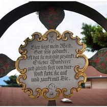 Der Museumsfriedhof von Kramsach