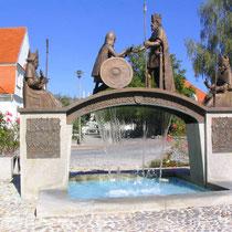 Brunnen zum Frieden von tussa