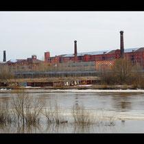 Здание фабрики Ярославской Большой мануфактуры (фото с сайта http://yarcube.ru)