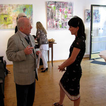 Ausstellungen und Vernissagen - Linda Ferrante