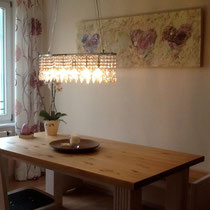 Wohnraumgestaltung mit Bildern von Linda Ferrante