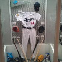 野球殿堂博物館 中日ブース (昇竜会Twitterアイコン)