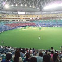 2013/8/9 阪神戦@ナゴド 試合前