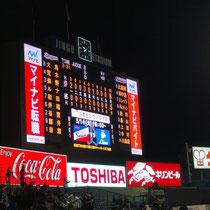 2013/5/8 ヤクルト戦@神宮 試合結果