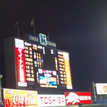 2013/4/17 ヤクルト戦@神宮 試合結果