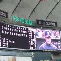 2013/8/31  対巨人 ヒーローインタビュー平田