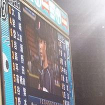 2013/9/23 対横浜 ヒーローインタビュー岩崎(プロ初ホームラン)