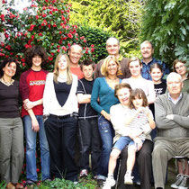 photo de famille avant