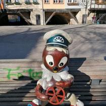 KIKA Figuren in Erfurt, Thüringen