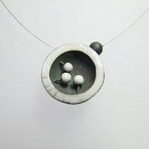 fiche descriptive collier contemporain céramique raku simplement terre
