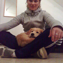 06.05.10 Katja mit Bruno