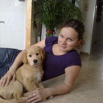 30.04.10 Katja mit Bruno