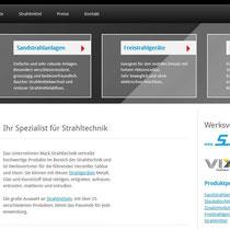Konzeption, Webdesign und technische Realisierung