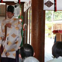 川越氷川神社にて「絹文化振興祈願祭」が執り行われました