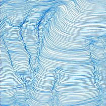 Fahnenentwurf 3, 2013, Tusche auf Papier, 45 × 15 cm