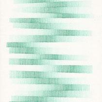 """Zeichnung Nr. 7 aus """"Schief gegangen"""", 2014, Tusche auf Papier, 30 × 21 cm"""