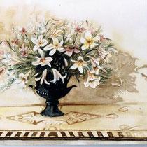 """Lilien"", Aquarell, 32 * 27 cm"