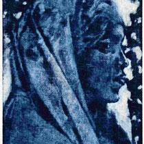 """Maria Magdalena"", Mezzotinto, 23 * 18 cm"