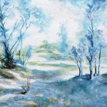 """""""Südliche Landschaft"""", Aquarell, 50 * 34 cm"""
