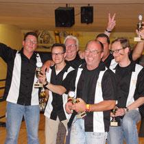 Dritter Mannschaft Bowling Stones