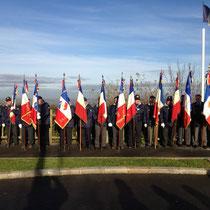 A Avranches, cérémonie place des anciens combattants d'Afrique du Nord