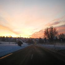 Am Morgen geht die Sonne auf...
