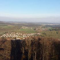 Blick auf Gomadingen