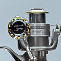 Shimano Twinpower 4000PG w/ Ultimate Jigging 45mm Reel Knob