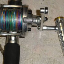 Avet Reel w/ UJ T Bar 092 B Type Shaft