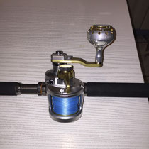 Shimano Talica 2 Speed Reel & Ultimate Jigging 45mm Type II Reel Knob