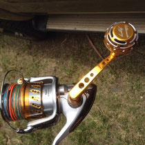Shimano 2008 Stella SW 18000 & Ultimate Jigging PA-001 S Arm w/ 45mm Type II Reel Knob