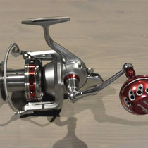 Daiwa Saltiga 6000 Surf Reel w/ UJ 45mm Reel Knob w/ D Kit