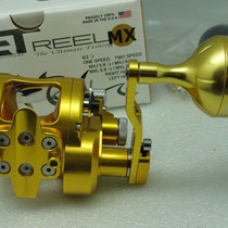 Avet MXJ 6/4 MC Raptor Two Speed with UJ 45mm_A Reel Knob