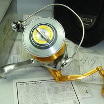 Shimano Stella 18000 SW w/ 45mm Type II Reel Knob