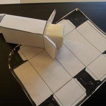 réalisation d'emballages de savons