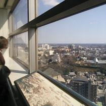 遠くに千葉城が見えます 無料です!ぜひ一度!(3月4日)