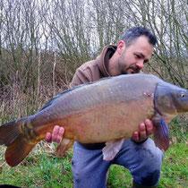 Carpe 10 kg, étang Acrocarpe