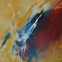 """Acrylbild auf Leinwand, """"Zwischenzeiten"""" 50 cm x 70 cm"""