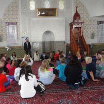 Der Vortrag in der Moschee war sehr interessant