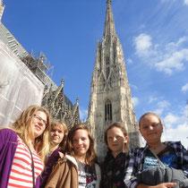 Wir waren auch am Turm oben